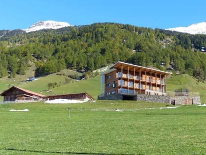 Ferienwohnung Bio Bauernhof Panoramaaussicht
