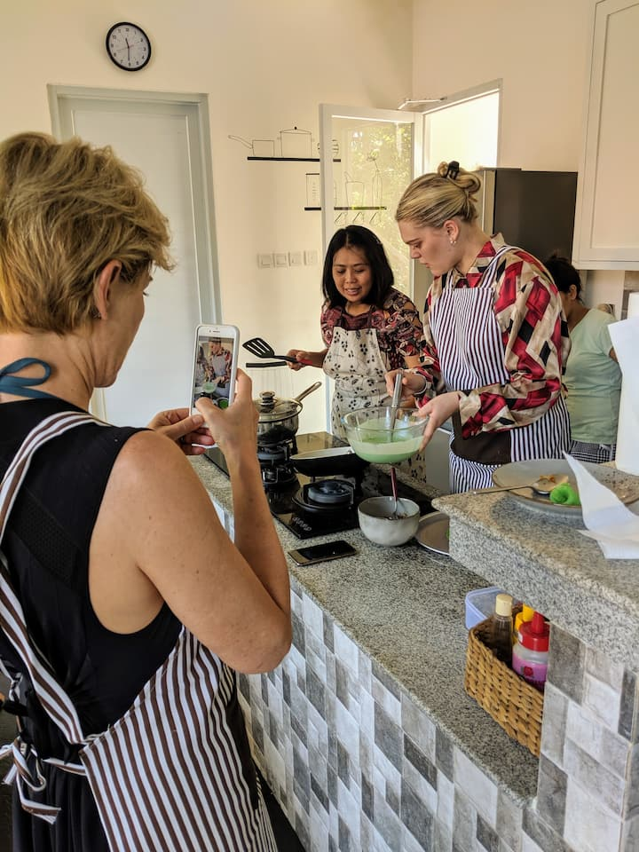 Capturing the cooking experience