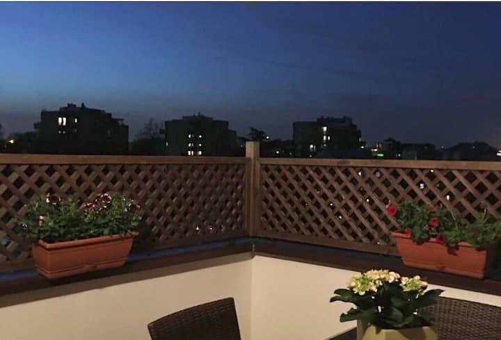 Milano San felice appartamento con terrazzo