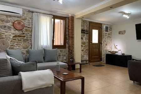 Stone house in the Castle of Chios!