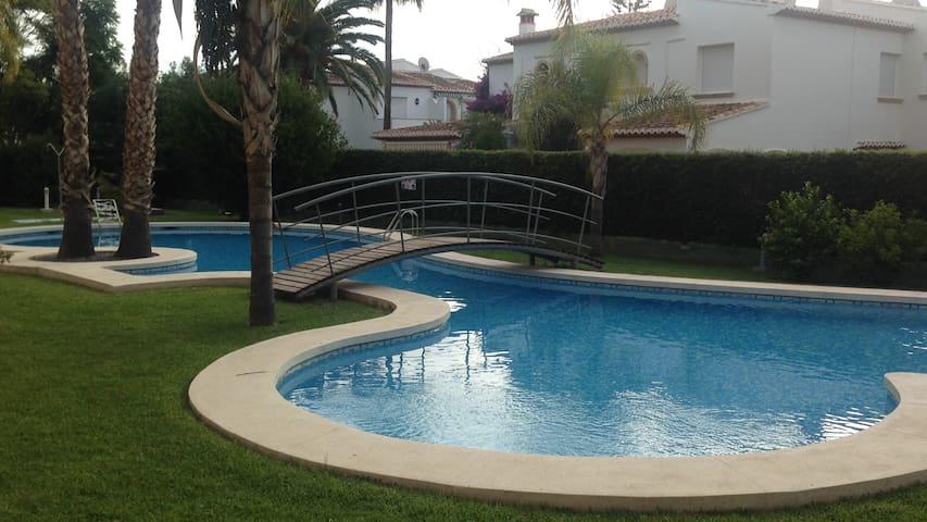 Habitación con Baño privado en Apt. con Piscina