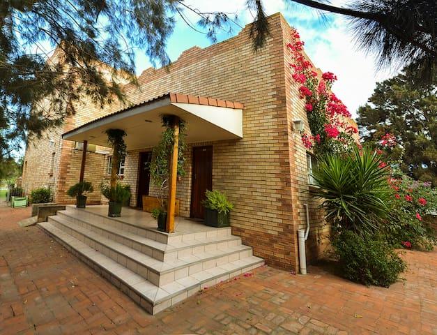 Sundune Guest House entrance.
