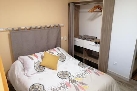 Chambre d'hôtes cosy jaune