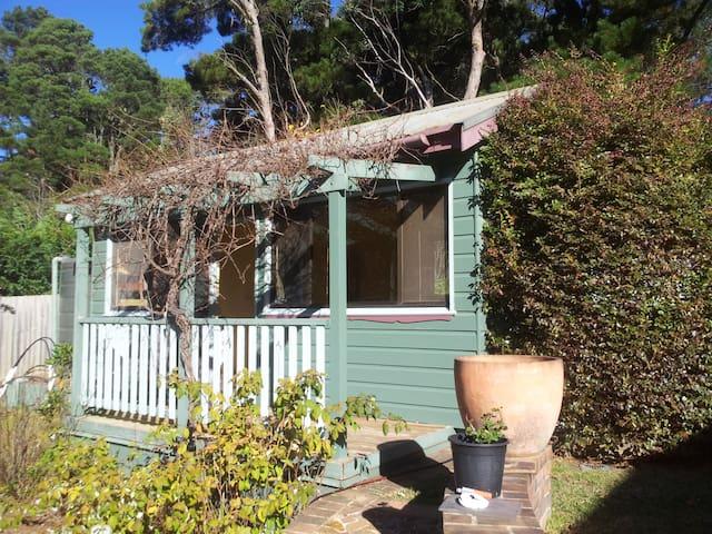 Sunny private garden cabin