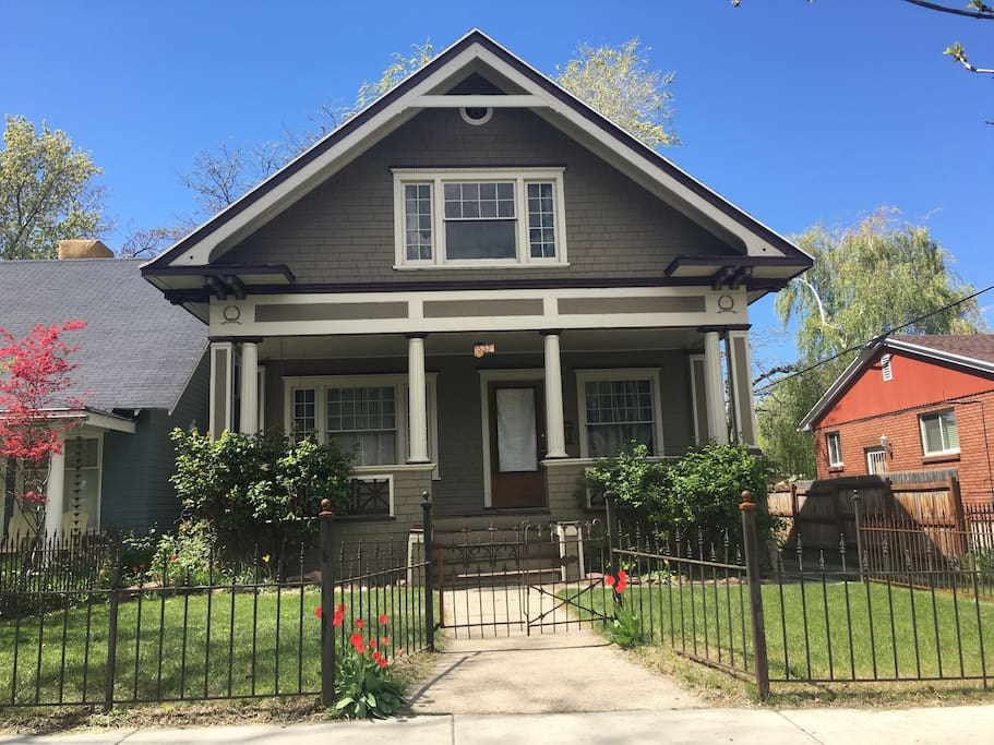 Downtown Slc Capitolhill Craftsman Houses For Rent In Salt Lake City Utah United States