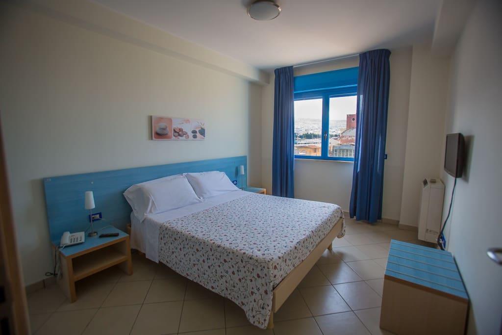 camera da letto - vista finestra