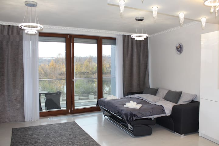 Perfect view from Luxury flat in center of Prague