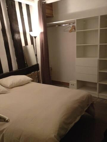 Chambre en centre ville de Rouen - Rouen - Apartment