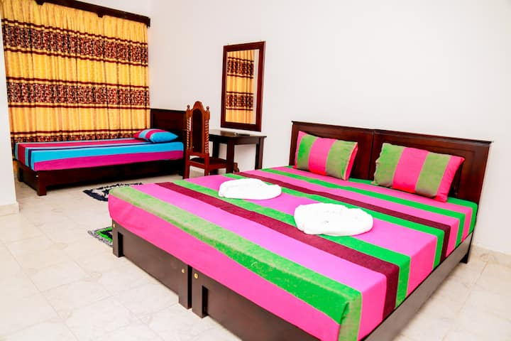 triple bed relax hotel