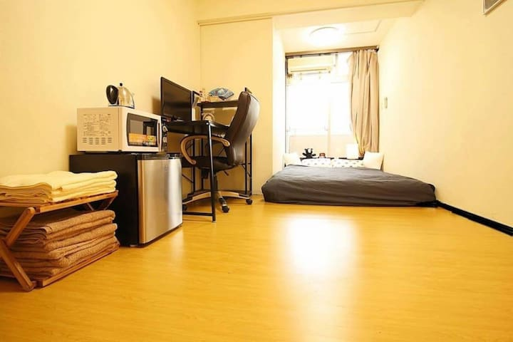 ~~Downtown Guest House in Shinjuku~~WIFI & TV