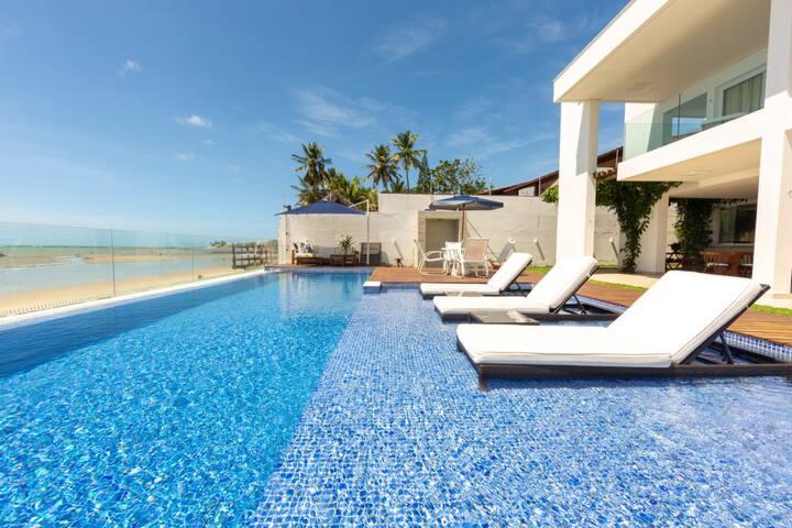 Maravilhosa casa  na praia de Porto Mirim - Muriu