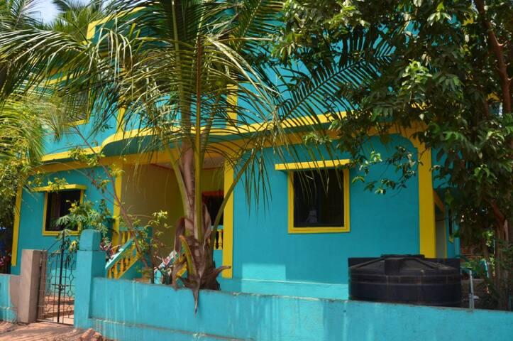 1 этаж дома в Мандреме (2 спальни) - Mandrem - House
