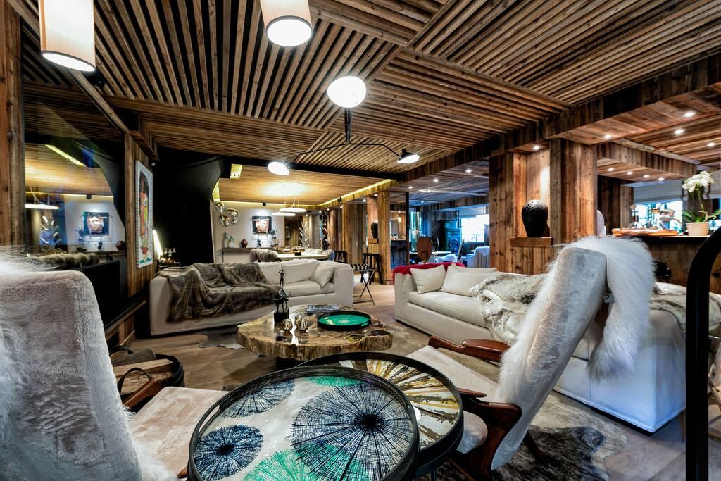 chalet le s vign 5 6 chambres au c ur de meg ve chalets louer meg ve auvergne rh ne. Black Bedroom Furniture Sets. Home Design Ideas