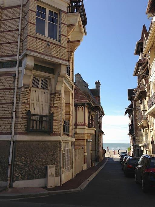 Rue plage