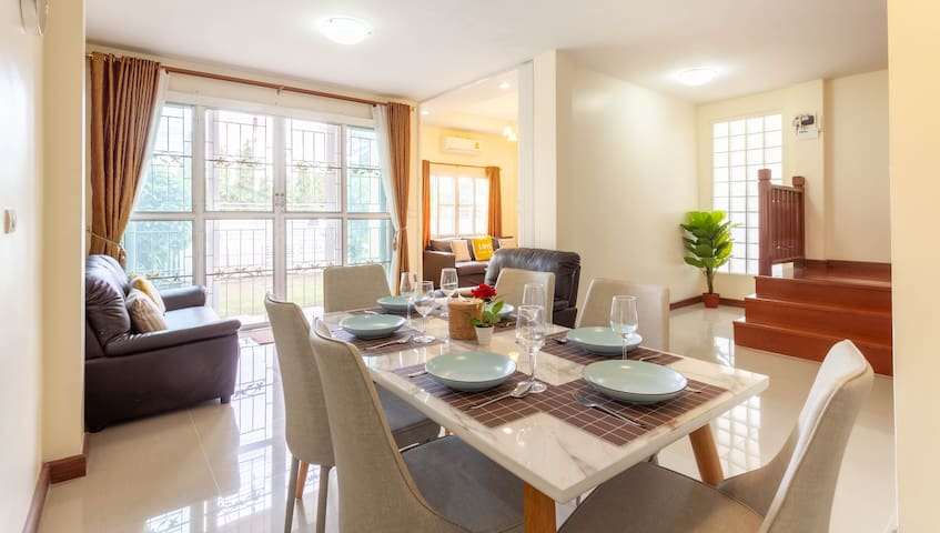 ❤ Private House 4BR/9persons+ Free airport pick up