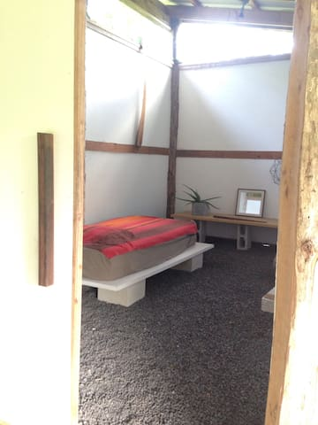 Pavilion Studio at Kualoli near Kalapana, Pahoa. - Pāhoa - Lägenhet