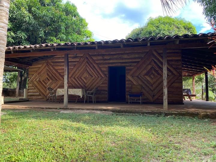 Cabaña en Ruta de La Paz, rodeada de la naturaleza