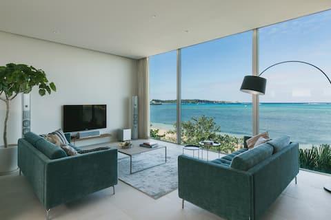 Beach Front. Stylish. Rare in Okinawa. 176sq.m.