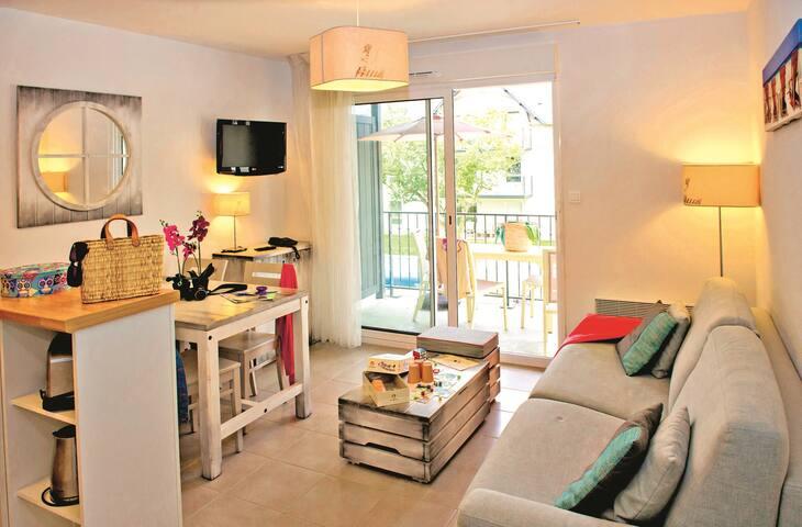 Bel Appartement sympa et équipé, à 50m de la plage !