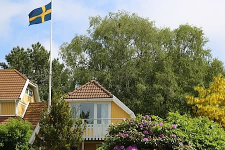 Lovely apartment close to the ocean and Gothenburg - Särö