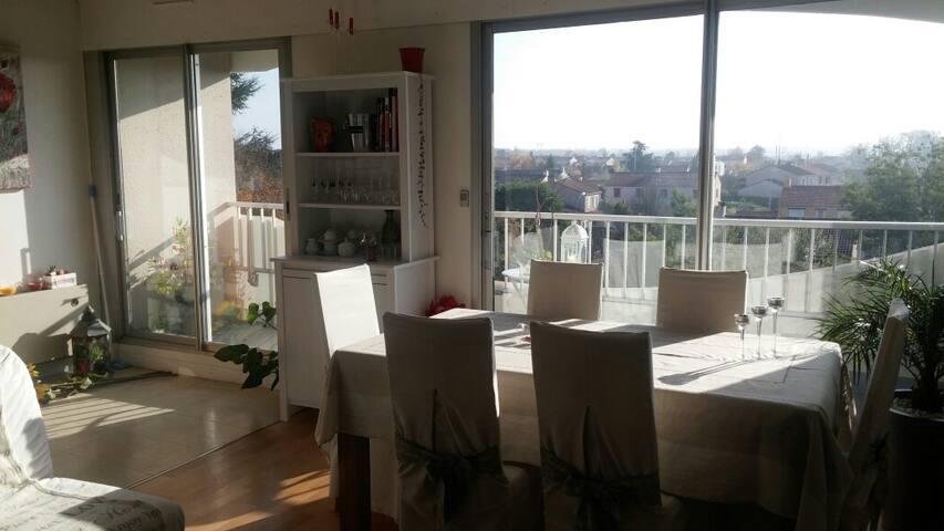 Charmant T2 calme et confortable - Saint-Sébastien-sur-Loire - Apartment