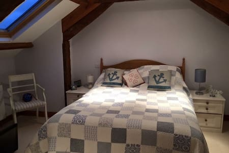 En-suite room in Converted Barn -Tamar Valley - Saint Mellion - Loft