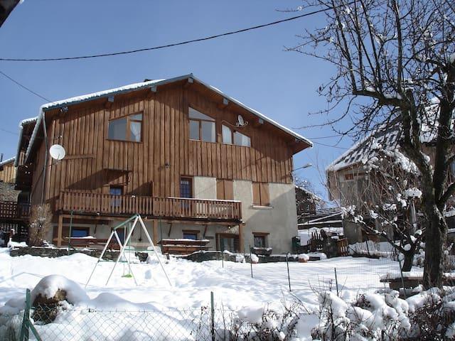 Grand gite pour 12 pers à Doucy Valmorel - La Léchère - Lakás