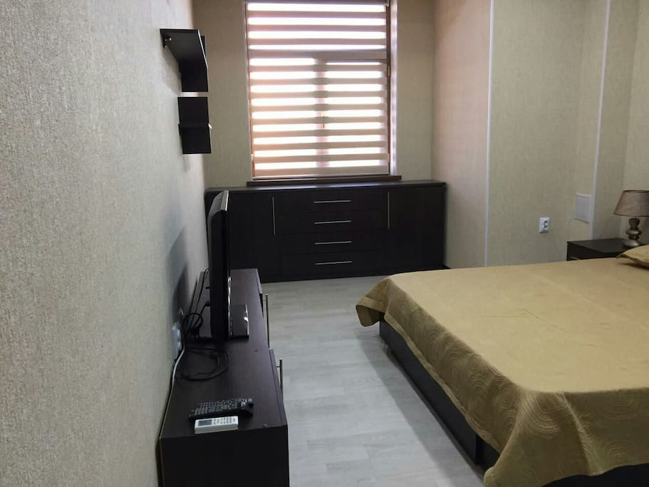 Bedroom and tv place