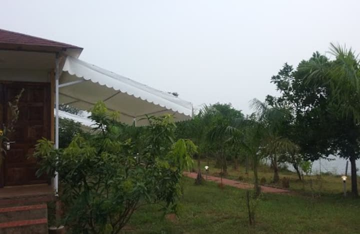 The Waterfront,Kolad Lake view Farm  with B/fast F