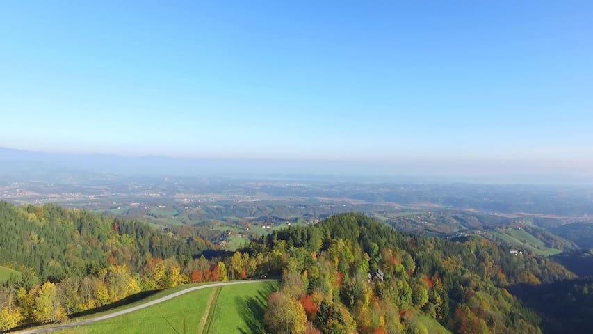 Fuchs & Hase mit Panoramablick