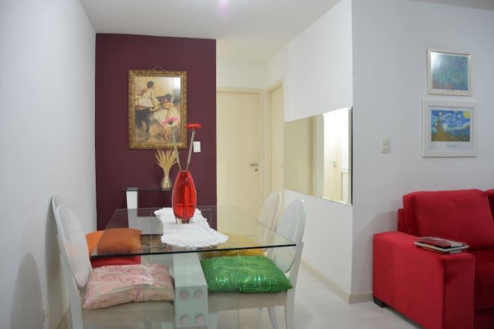 Bright and convenient apartment in Lapa - Rio de Janeiro - Apartamento