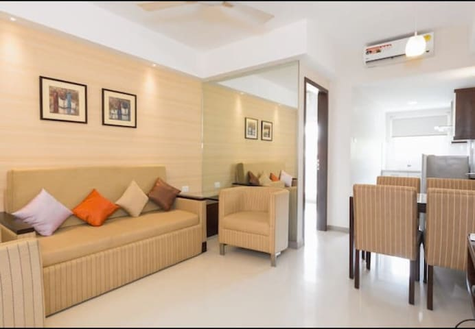 Charming & Peaceful Flat  at Panampally Nagar - Ernakulam