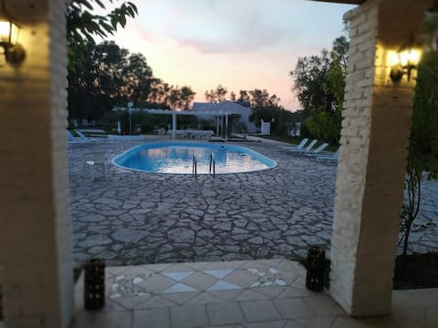Alykes family resort double room 1