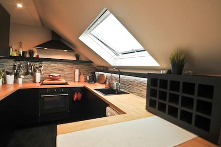 Spacieux/lumineux appartement meublé avec Terrasse - Apartment
