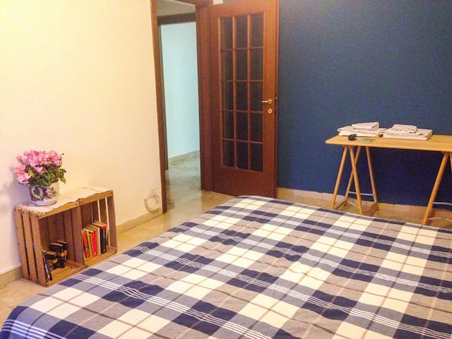 In the apartment there are other 2 rooms.