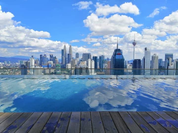 Comfy in Modern Design Suite/ KLCC Infinity Pool
