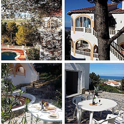 Duplex catalonian villa w/ 2 flats