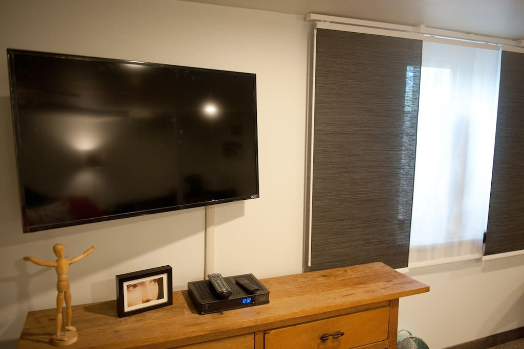 "42"" Flat Screen on mobile bracket"