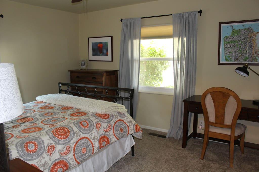 Bedroom #1 includes dresser and desk space