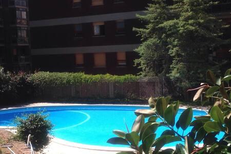 Brightful flat in Sassari with condominium pool