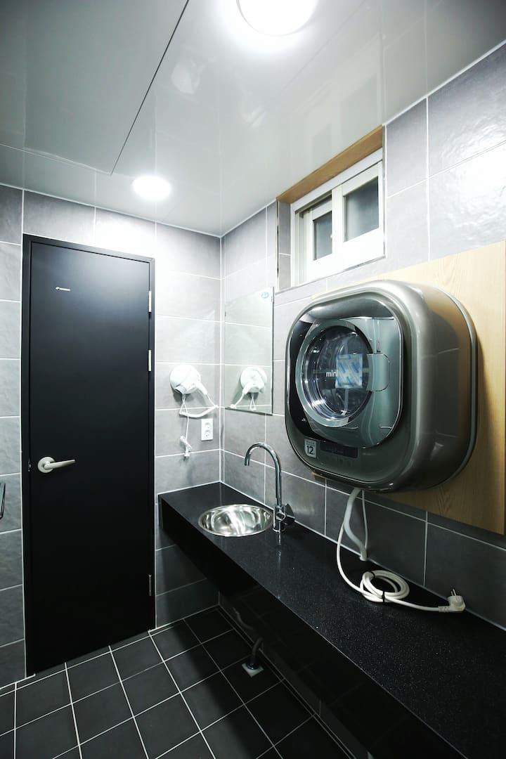 센텀 Stayan guesthouse & bnb, Twinroom Superior(3인실)