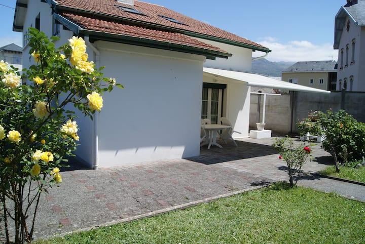Appartement de plain-pied avec jardin privatif