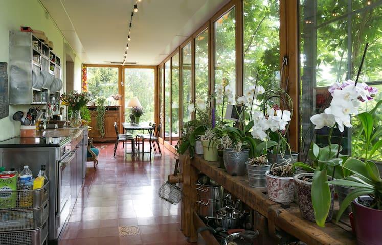Appartement avec jardin à Genève