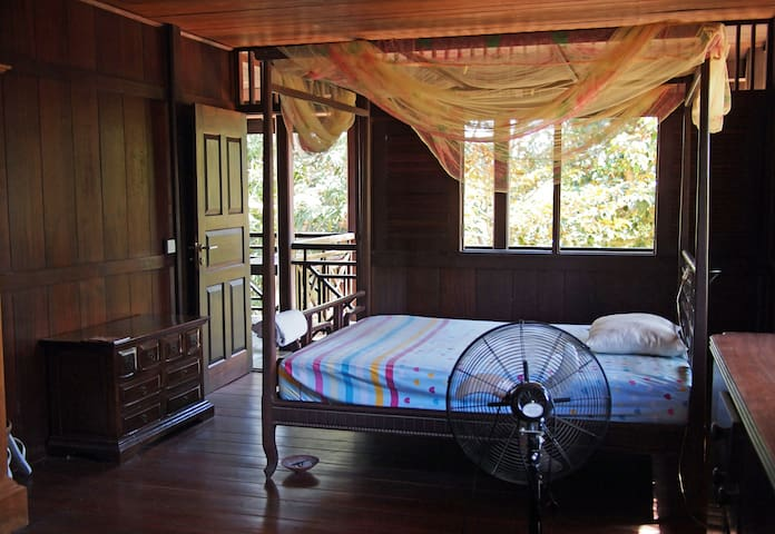 Comfy room wih beautiful views for 2 - Krong Siem Reap - Daire