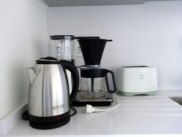 Allt som behövs finns i köket