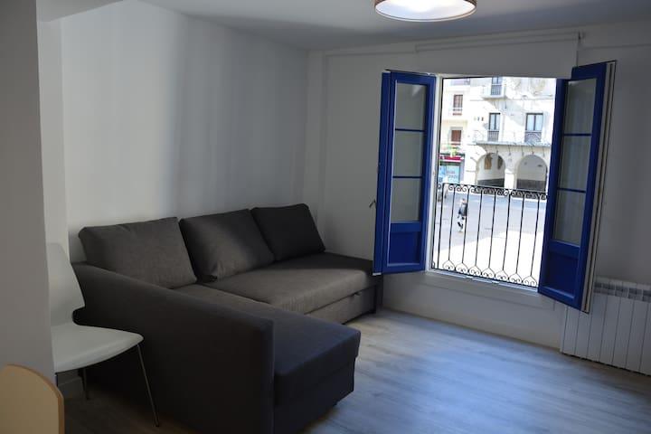 sala con amplio sofá-cama (doble)
