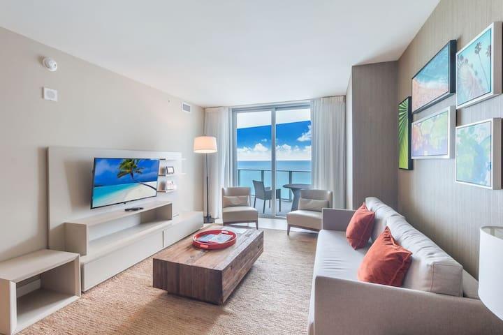 1 Bdrm Oceanview Hide Beach Resort by Suitevacays