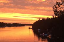 Sunrise in Big Tub Harbour