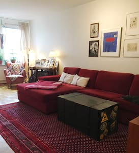 Cozy & spacious flat, in hip and central area. - Göteborg - Apartament