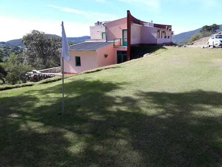 La casa de los sueños. Cancha de golf 9h par 3